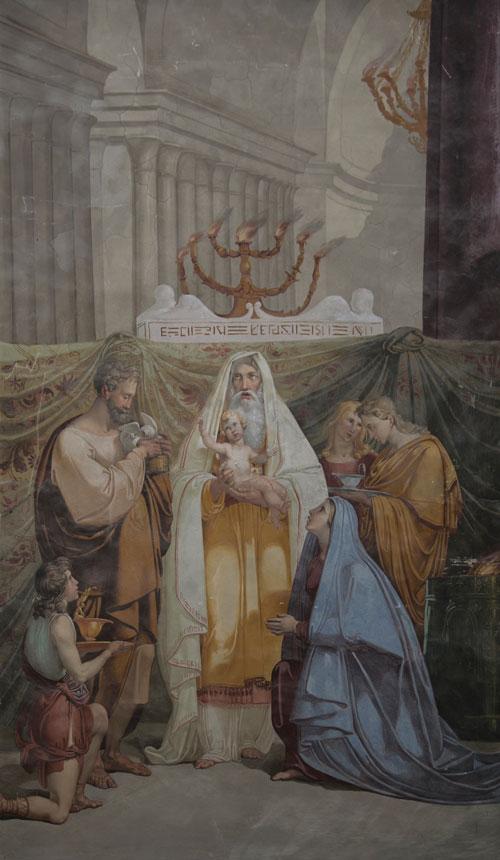 Kynttilänpäivä Jeesuksen esittely temppelissä