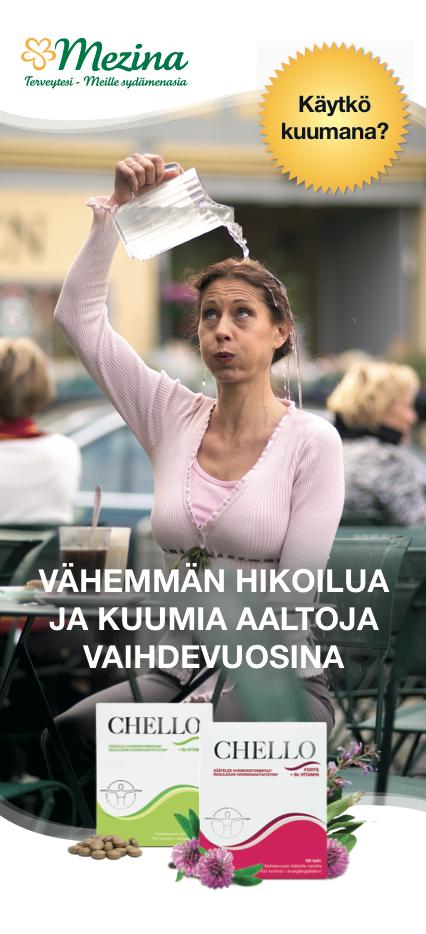 chello-nainen-kaataa-vetta
