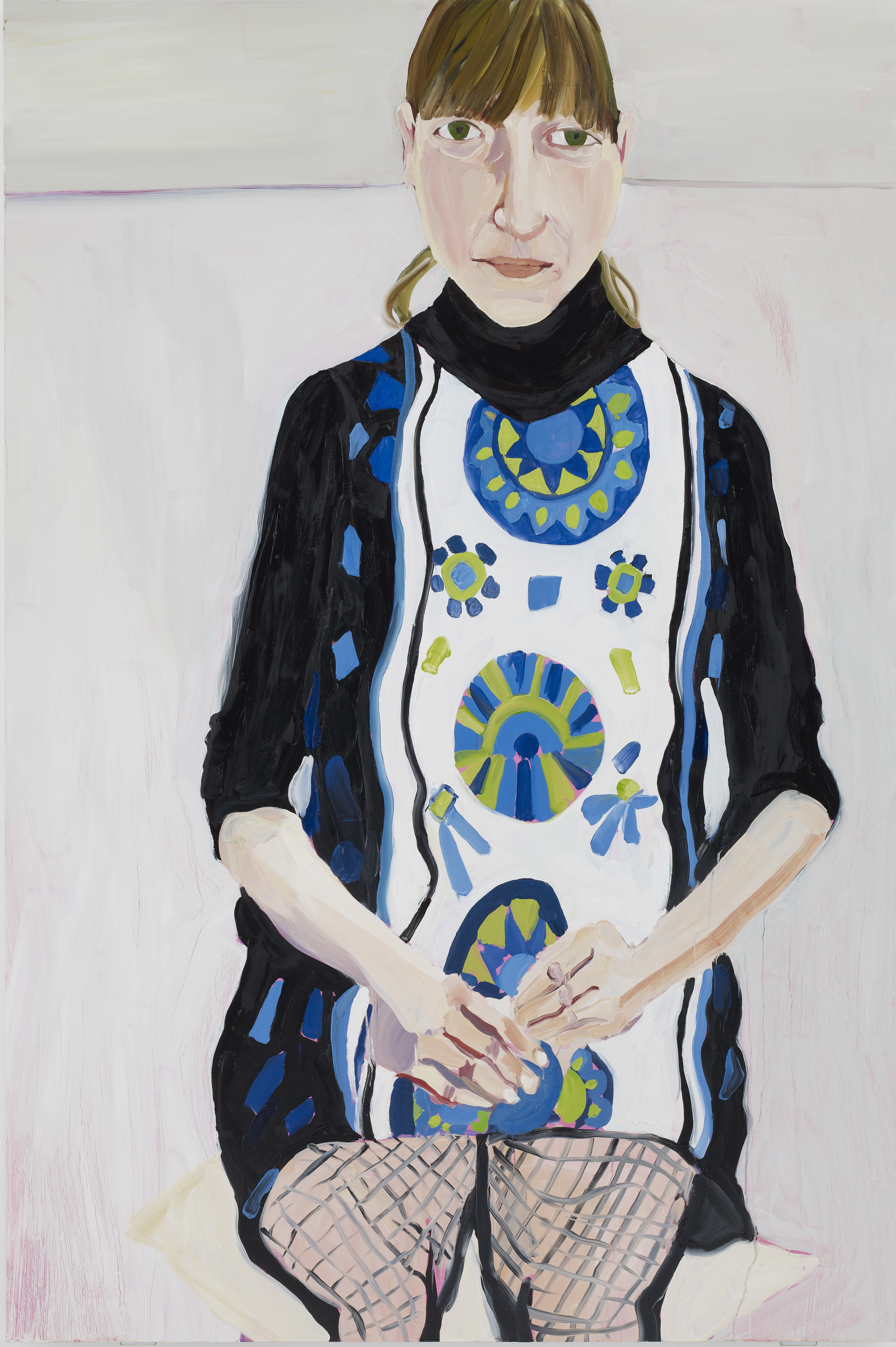 Chantal Joffe - Sally in Fishnets