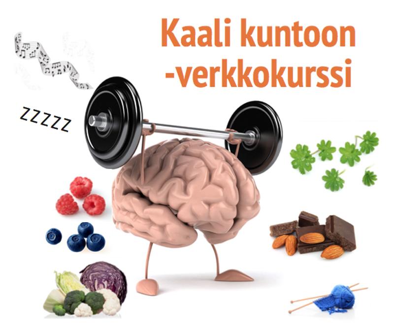 Kaali kuntoon -verkkokurssi autuutta aivoit