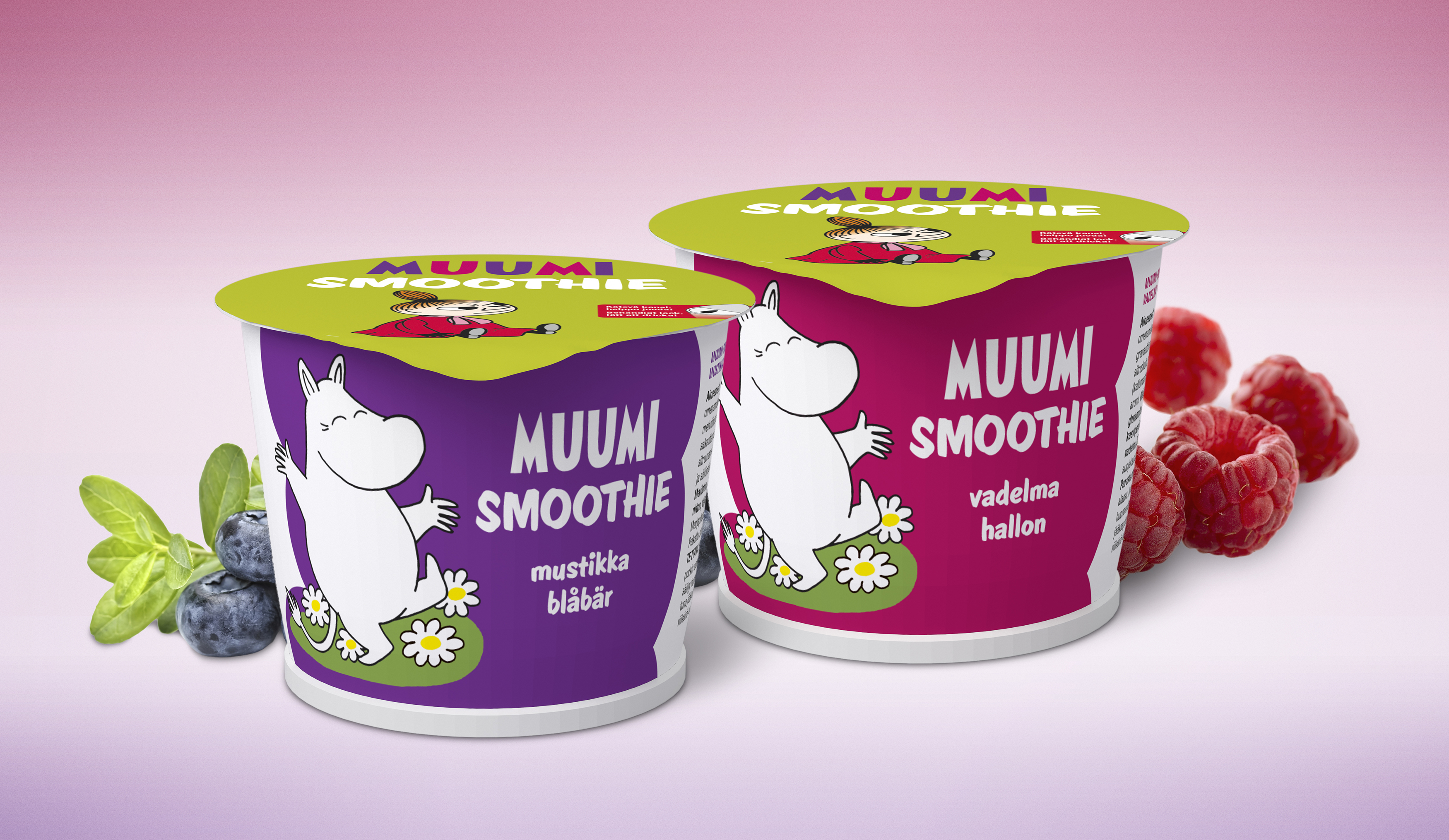 Muumi-smoothiet