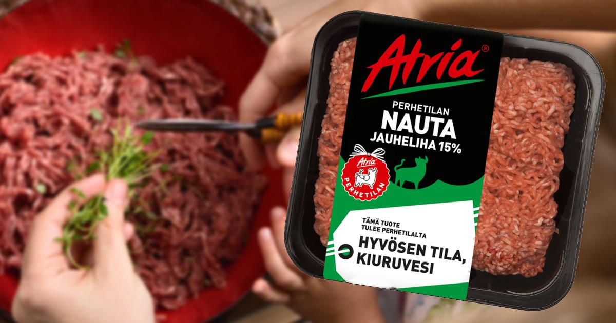 Atria on maailman jäljitettävin lihatalo - ePressi
