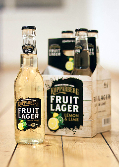 Kopparberg Fruit Lager Lemon&Lime 4,7 4-pack