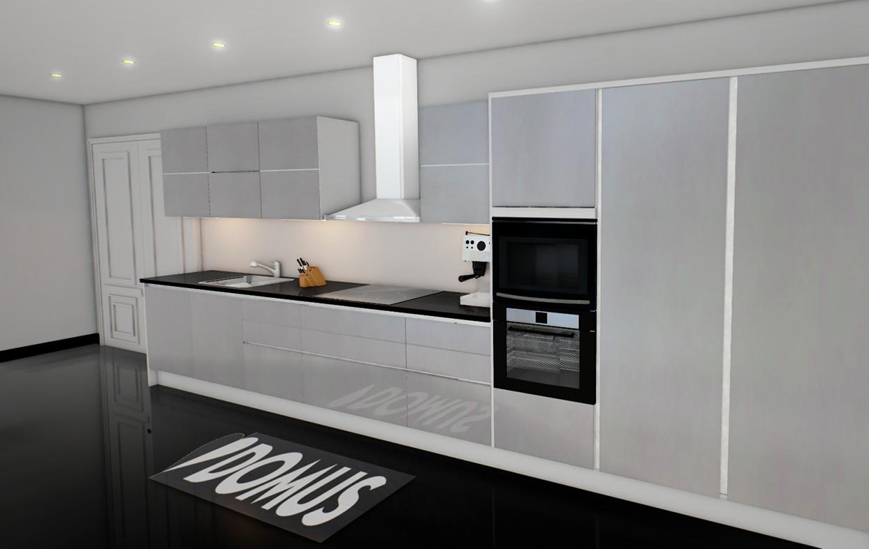 DOMUS keittiöt esittelee Turussa Muoto by Domus virtuaalikeittiönsä 12 11 20