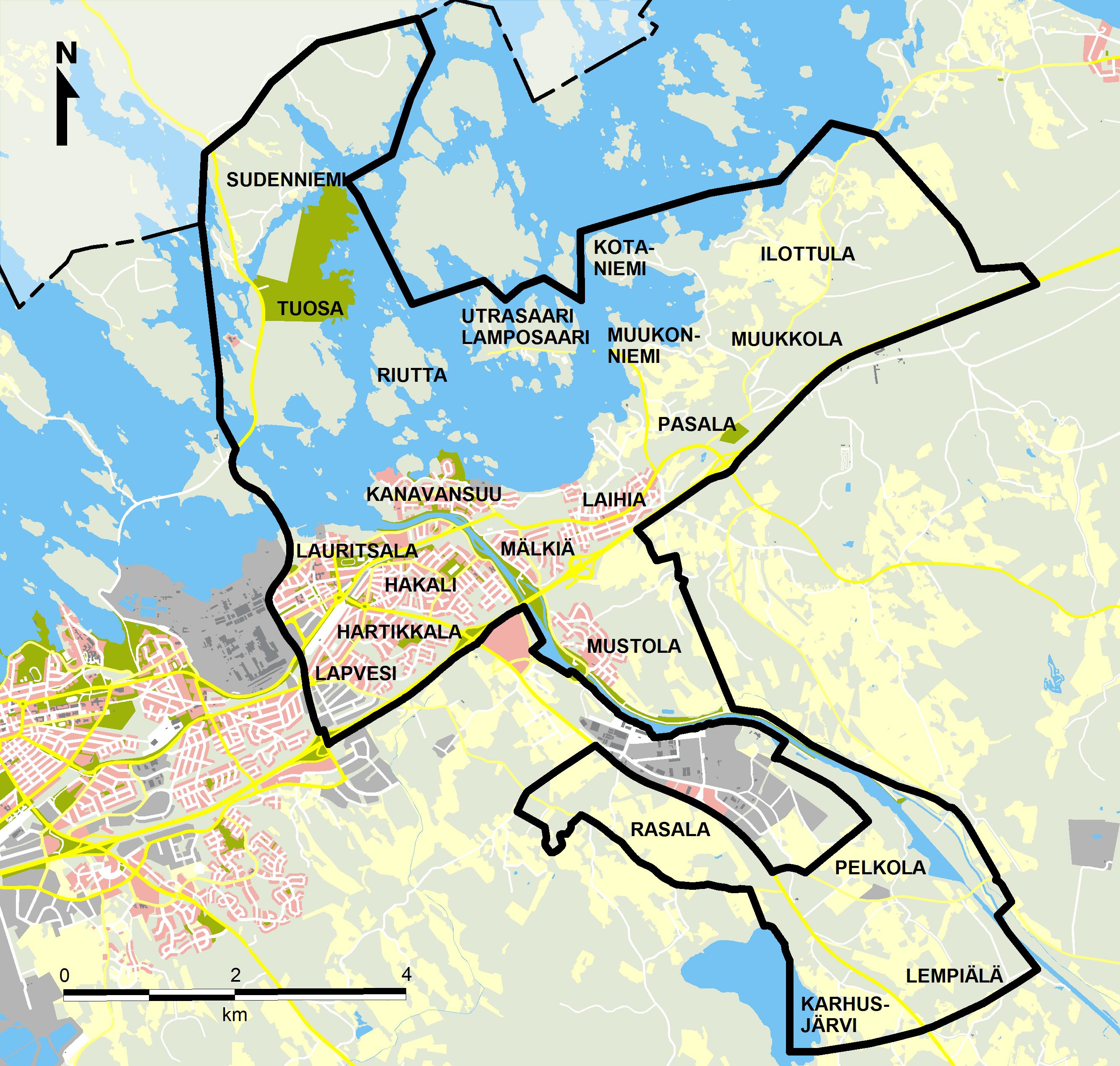 Kartta lappeenranta