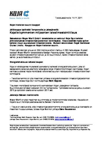 lehdistotiedote_koja_141111.pdf