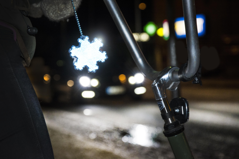 Suomalainen lumikide on klassikkoheijastin!