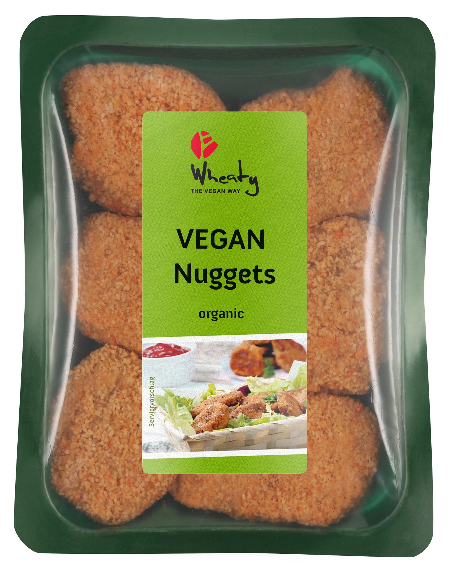 wheaty seitan nugetit luomua ja vegaanista
