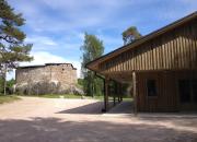 En ny servicebyggnad öppnar sina dörrar vid Raseborgs slott