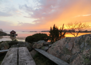 Frivilliga värdar och värdinnor i Skärgårdshavets nationalpark