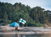 Finland det första landet som flaggar för naturen