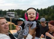 Linnanvirta keräsi huiman yleisön Kajaanin jokirantaan