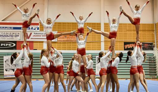 Kaksi cheerleadingin junioreiden EM-kultaa Suomeen