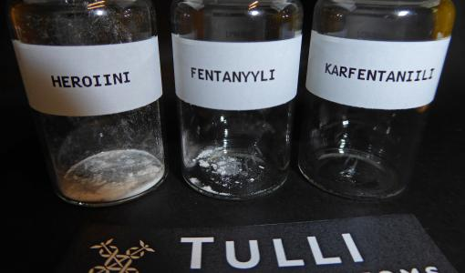 Finnish Customs warns about an extremely dangerous medicinal substance, carfentanil – merely handling the substance can lead to death