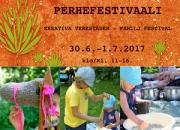 Luovat Pajat perhefestivaali -Fiskarsin Ruukissa