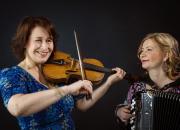 Glittrande toner och svallande känslor, Konsert med Maria Kalaniemi och Marianne Maans