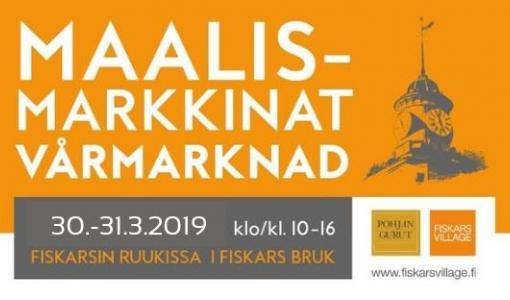 Välkommen på Vårmarknad 30.-31.3. kl. 10-16 till Fiskars!
