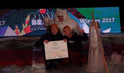 Virta Ltd. is the winner of the annual Finnish ice hole pitching competition Polar Bear Pitching