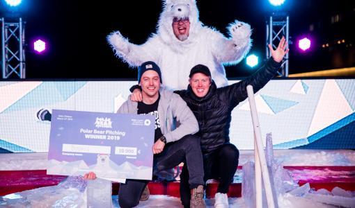 Bookis won Polar Bear Pitching 2019