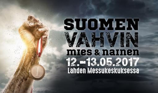 Niina Jumppanen on Suomen Vahvin Nainen