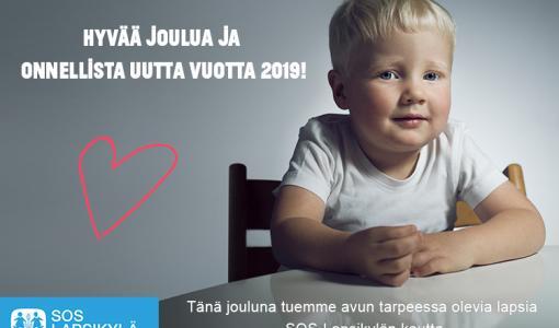 Hilti Suomen joululahjoitus