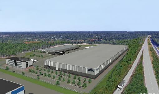 Lehto solmi sopimuksen logistiikkakeskuksen rakentamisesta kansainvälisen logistiikkayrityksen DSV:n kanssa