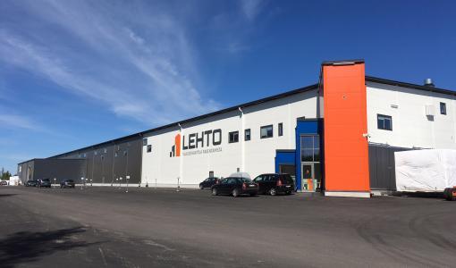 Lehto rakentaa uuden tehtaan Oulaisiin