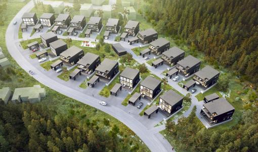 Suomen ensimmäinen ryhmärakennettava omakotialue Tampereelle