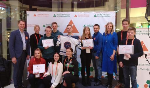 Kuusi nuorten yritystä Pirkanmaalta eteni Uskalla Yrittää -finaaliin