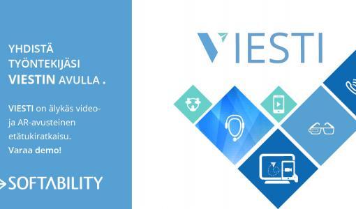Softability julkistaa video- ja AR-avusteisen etätukipalvlun SLUSHissa