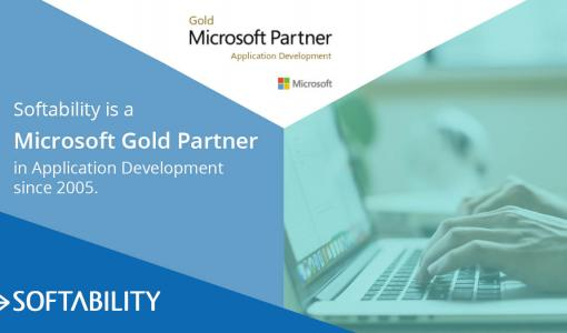 Softability on Microsoft Gold Partner ohjelmistokehityksessä jo 13 vuoden ajan