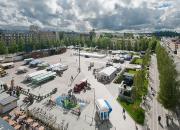 DISPERSE -moniviranomaisharjoituksessa Mikkelin torilla harjoitellaan myrkkykaasuvuodon varalle – harjoitus on osa kansainvälistä hanketta