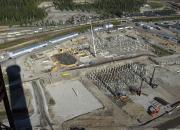 Metsä Fibre Oy:n Äänekosken biotuotetehdas on vuoden 2016 Paalutustyömaa