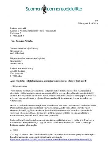 sll-muistutus_kolin-asemakaavamuutos_01-10-13.pdf
