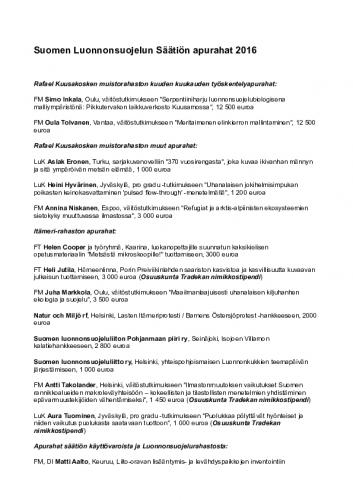 apurahansaajat_ja_kohteet_2016.pdf