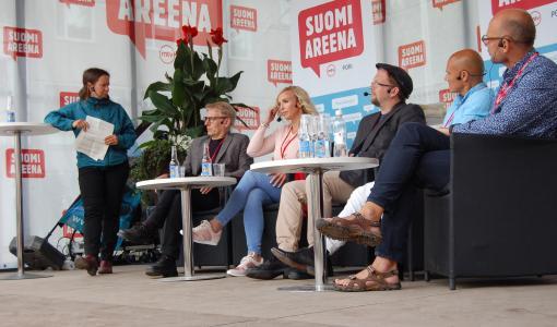 Luontosuhde nousi keskusteluaiheeksi SuomiAreenalla