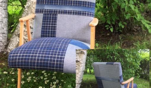 Habitare-messuilla sata tuolia luonnon puolesta