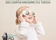 Luonnon päivä Turun Ruissalossa la 25.8: Luonnonsuojeluliiton 80-vuotisjuhlat, luontotietoa, elämäntapavinkkejä ja live-musiikkia