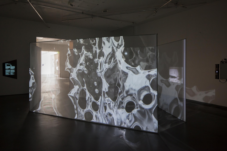 Tuomas A. Laitisen videoinstallaatio Receptor toteutettiin AVEKin ja Kiasman yhteistuotantona Ars17-näyttelyyn.