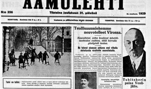 Historialliset lehtiarkistot avautuvat − Kopiosto ja Kansalliskirjasto laajentavat digitoitujen lehtien yleisökäyttöä