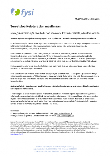 mediatiedote_fysioterapia.info_13.10.2016.pdf