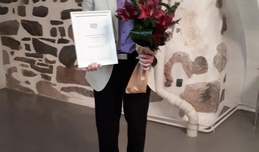 Varsinais-Suomen Vuoden museoteko 2018 -tunnustuspalkinto on myönnetty auralaiselle Ari Vilénille