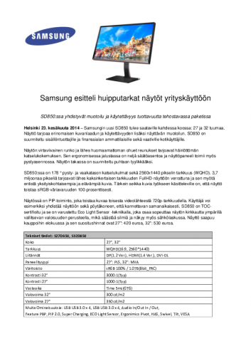 samsung-sd850-naytto-tiedote-230614.pdf