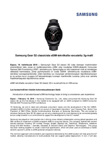 samsung-to-release-gear-s2-classic-3g-with-gsma-compliant-esim-tiedote-190216.pdf
