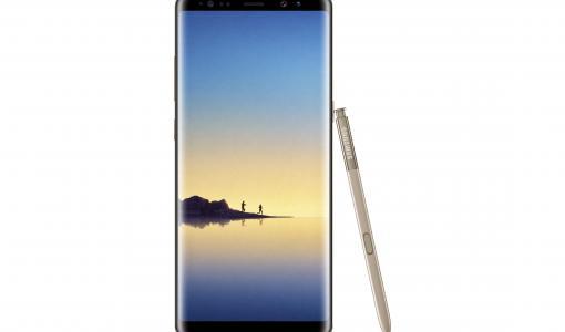 Saavuta suuria asioita Samsung Galaxy Note8:lla