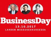 Tulevaisuuden haasteet ja mahdollisuudet BusinessDay 2017 -tapahtuman keskiössä