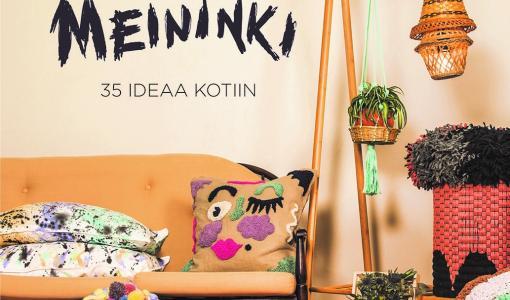 Marjo Mainingin Kässämeininki-kirja pulppuaa luovuuden ja käsillä tekemisen iloa
