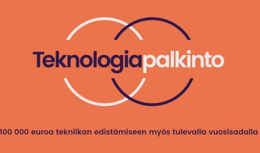 100 000 euroa Suomen inspiroivimmalle teknologian kehittäjälle