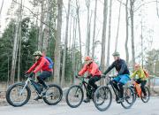 Suomen Ladun maastopyöräkiertue valloittaa polut ja sydämet
