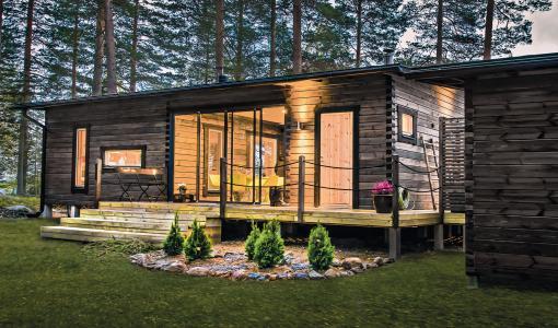 Hirsirakentaja Salvos Finland Oy laajentaa valmismallistoaan – uusi mökki jopa viikossa!
